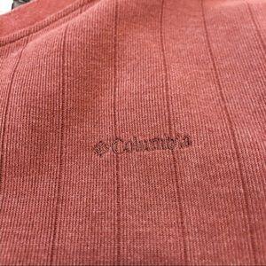 Columbia Sweaters - Oversized Columbia V-Neck Sweatshirt